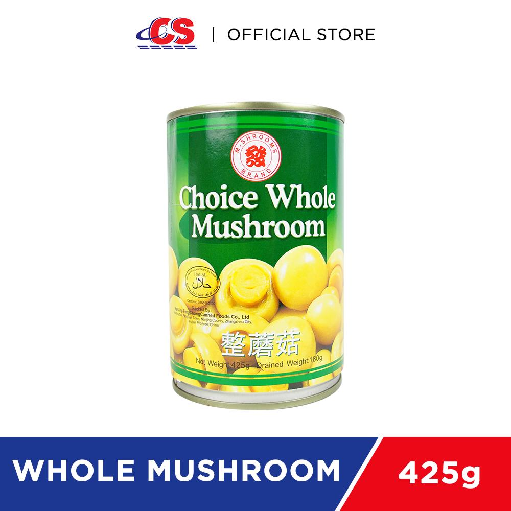 M-MUSHROOM Choice Whole Mushroom 425g
