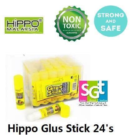 HIPPO GLUE STICK 8G 24'S