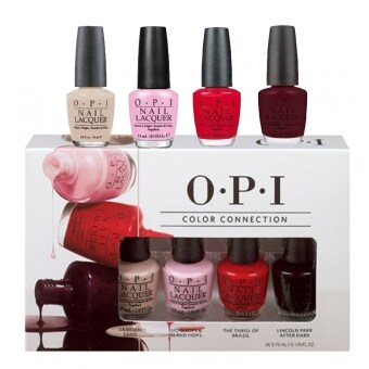 OPI Color Connection Mini Pack 4 X 3.75ml [OPSRG83]