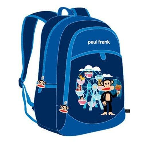 Paul Frank Backpack 16 Inches - Blue Colour