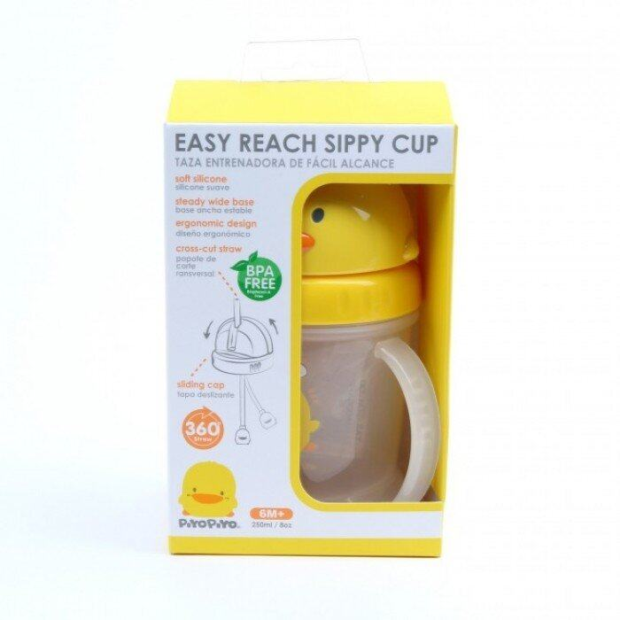 [PIYOPIYO] Replacement Straw For #830507 and #830508 Easy Reach Training Cup 250cc