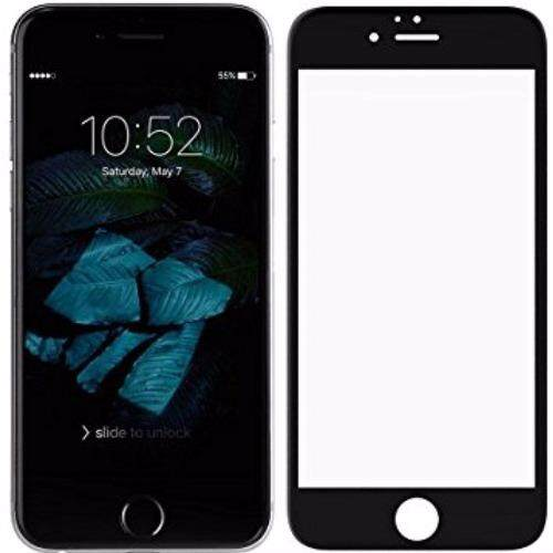 PREMIE Apple Iphone 7 3D Curved Full Screen Cover Tempered Glass Screen Protector (Black)