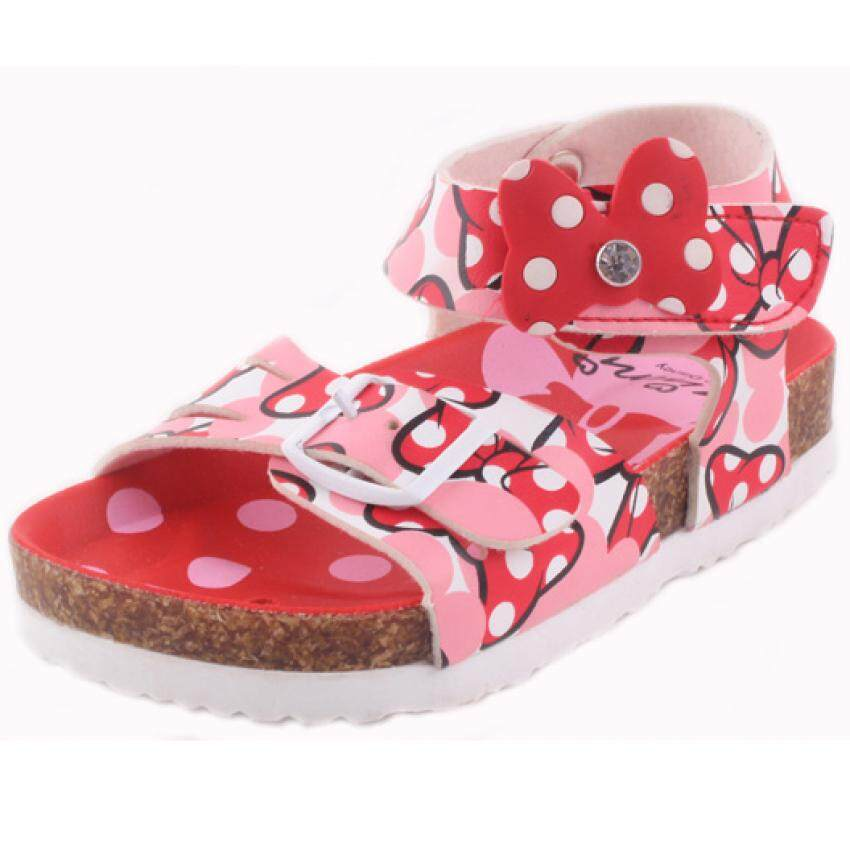 Disney Minnie Sporty Sandal 3yrs to 7yrs - Red Colour