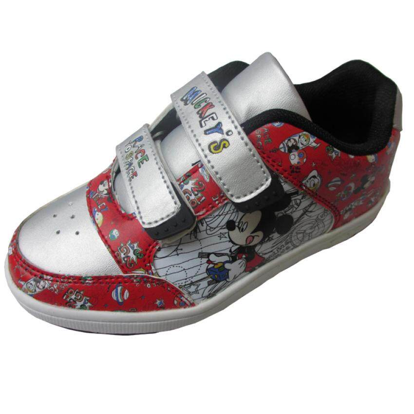 Disney Mickey Sport Shoes 5yrs to 9yrs - Red Colour
