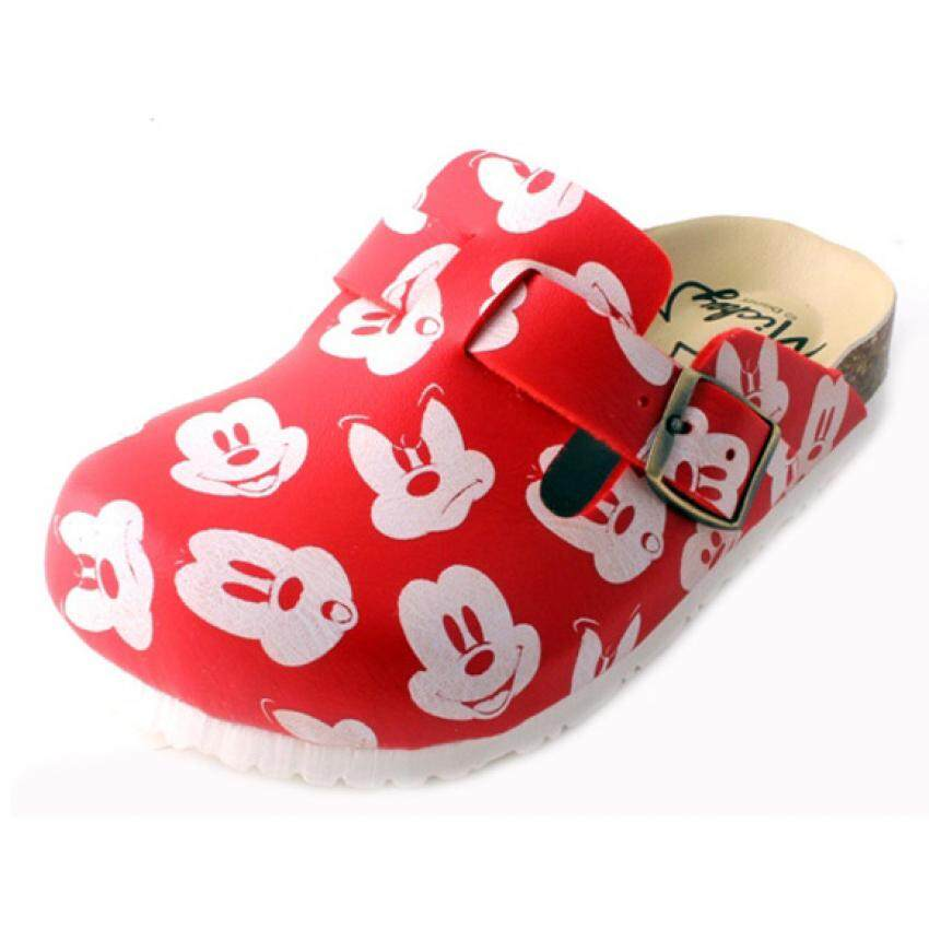 Disney Mickey Sporty Sandal 5yrs to 9yrs - Red Colour