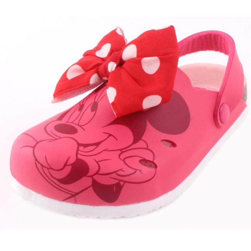 Disney Minnie Sporty Sandal 5yrs to 9yrs - Light Red Colour