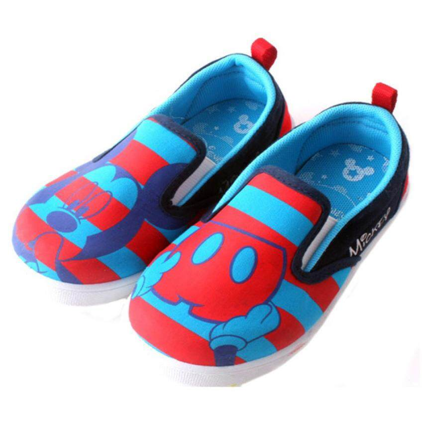 Disney Mickey Canvas Shoes 5yrs to 10yrs - Blue Colour