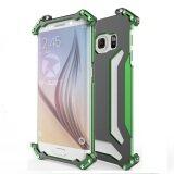 R-JUST Gundam Samsung S6 edge Shockproof Aluminum Metal Frame Case (Green)