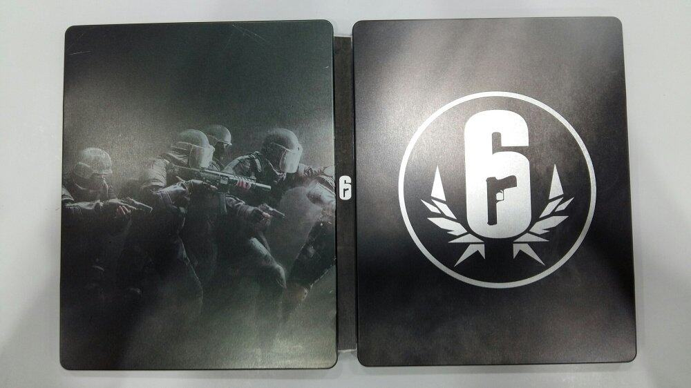 Rainbow Siege Siege Steelbook (No Game)