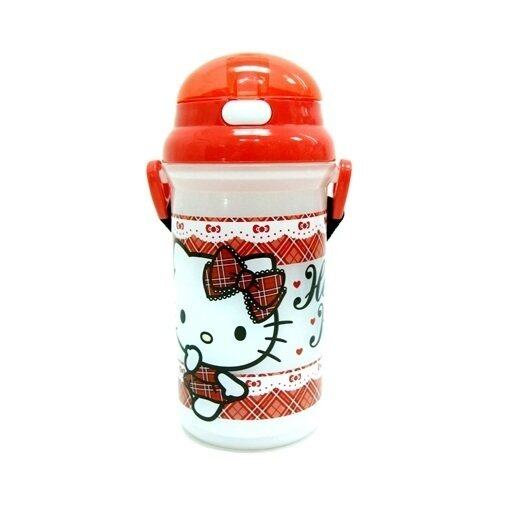 Sanrio Hello Kitty 500ML Water Bottle - Red Colour