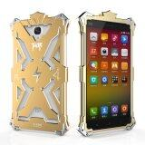SImon Thor Alumimium Shockproof Protection Case for RedMi Note (Gold)