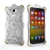 Simon Thor Alumimium Shockproof Protection Case for RedMi Note (Silver)