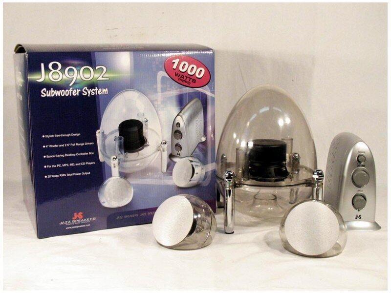 Speaker J8902 1000 watt Home Theater Subwoofer System