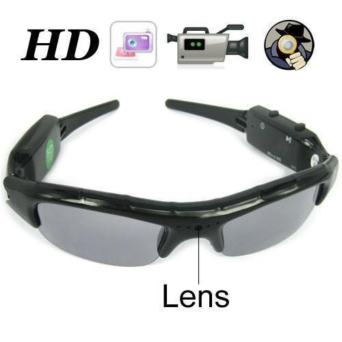 Spy Sunglasses Hidden Camera Video Recorder 720x480