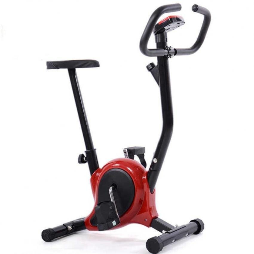 Stationary Exercise Bicycle (Red)