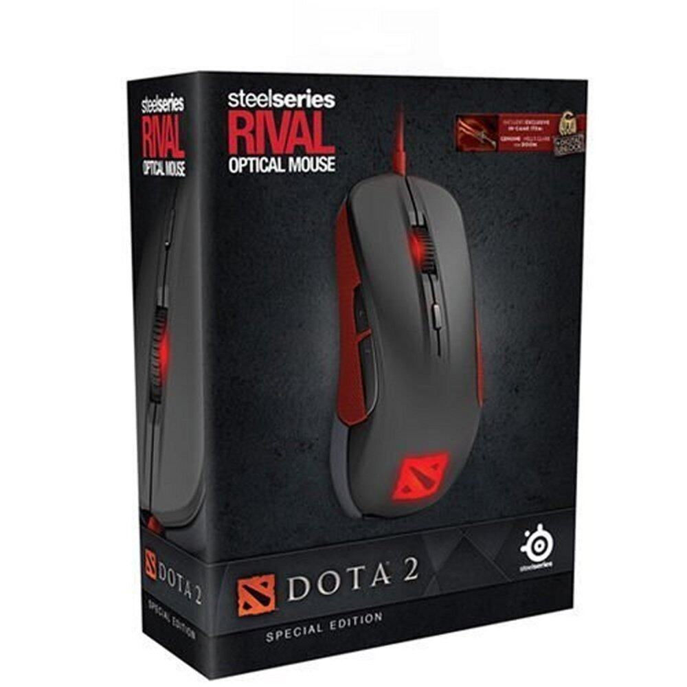 SteelSeries Rival Dota 2 Edition (with in-game item)