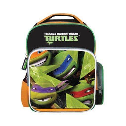 Teenage Mutant Ninja Turtles Backpack - Orange And Green Colour