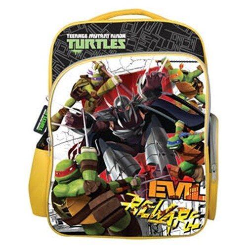 Teenage Mutant Ninja Turtles School Bag - Yellow Colour