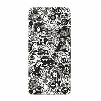 BUILDPHONE TPU Soft Phone Case for Sony Xperia X Performance (Multicolor)