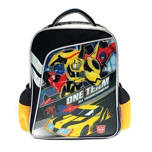 """Transformers Backpack 12"""" - Black Colour"""