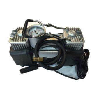 Twin-Cylinder Heavy Duty Car Air Compressor