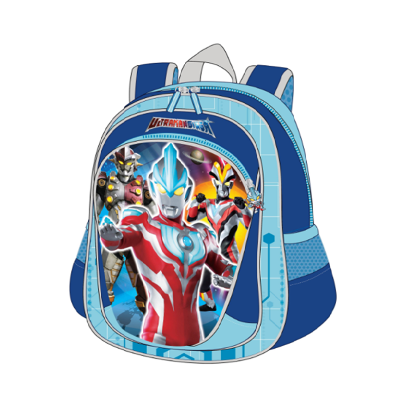 Ultraman Backpack School Bag 16 Inches - Blue Colour