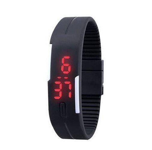 Unisex Digital LED Wrist Bracelet Watch Sports Jogging Gym Hiking Camping Fashion