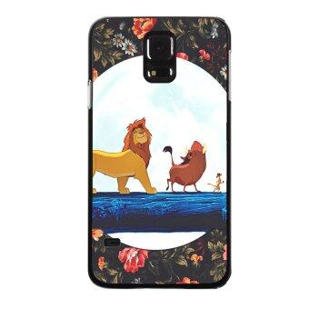 YM PC Fashion Cute Lion Pattern Phone Case For Samsung Galaxy A5 Multicolor