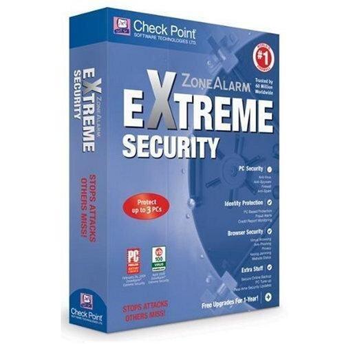 ZoneAlarm Extreme Security - 3 PCs, 2 Years