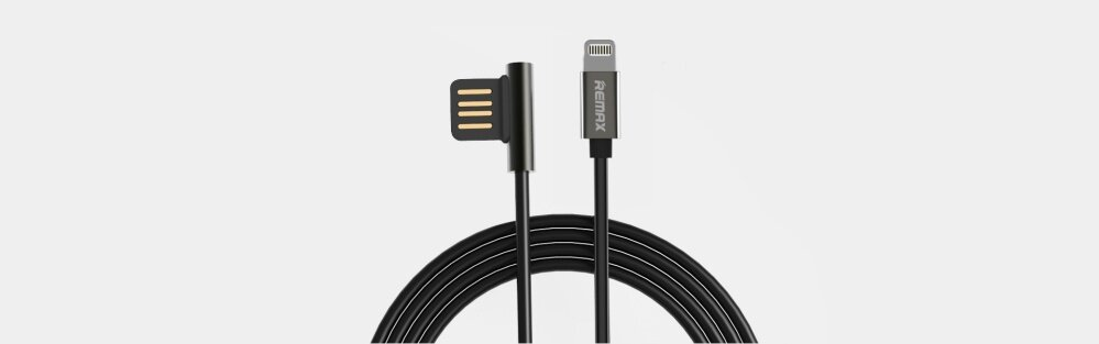 Remax Data Cable Emperor Lightning (Gold)   Lazada