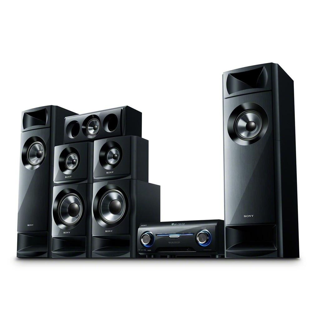 sony home theater system. the sony ht-m3 muteki home theater system, with its 5.2 amplifier channel is perfect for gaming, movies and music. it\u0027s so loud that you\u0027ll want to watch system a