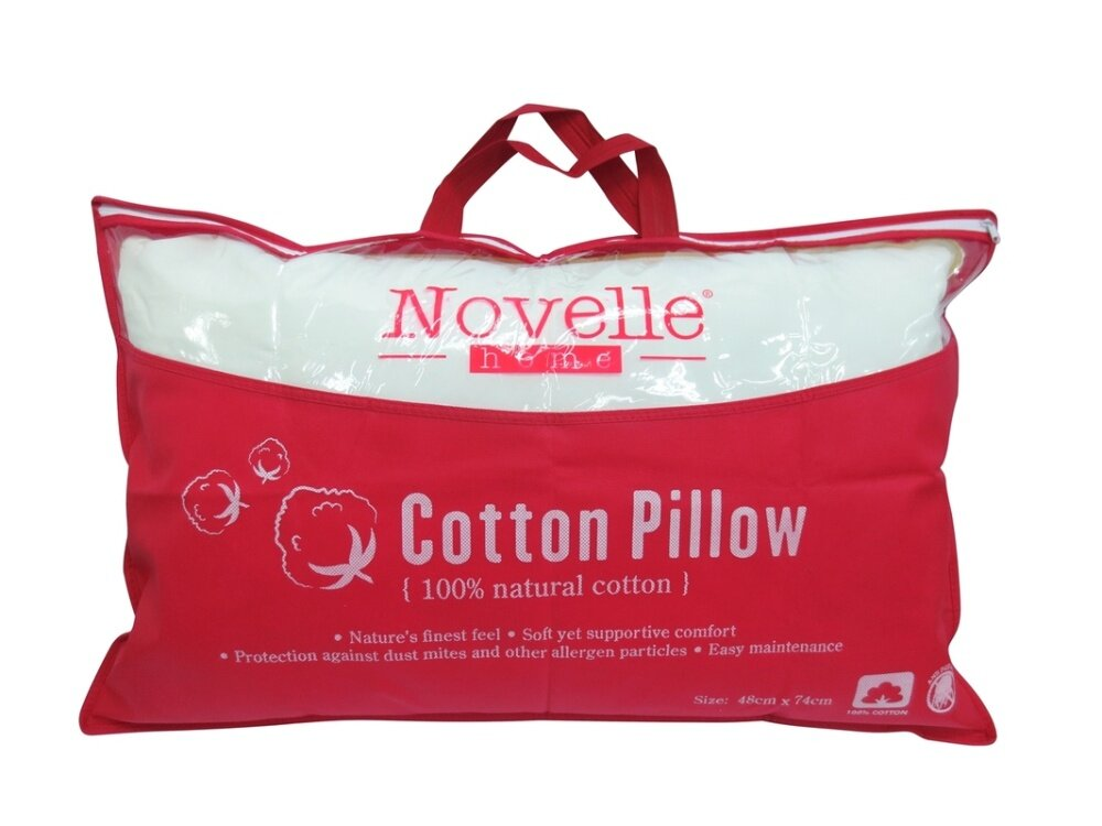 Novelle cotton pillow buy sell online pillows bolsters for Buy pillows online cheap