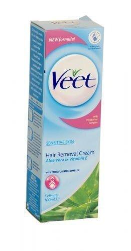Veet Hair Removal Cream Sensitive Skin 100g