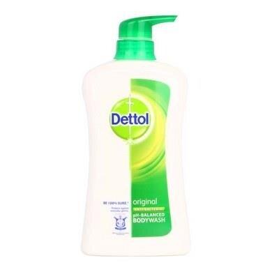 Dettol Shower Gel Anti-Bacterial Original 950mlX 3