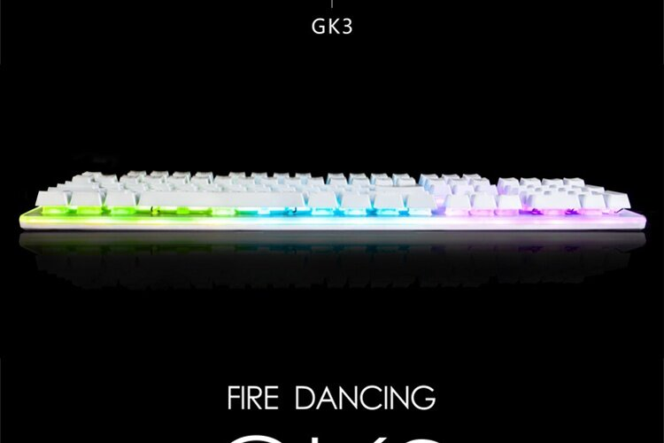Specifications of 1STPLAYER Fire Dancing Mechanical Feel Gaming Keyboard GK3 Black