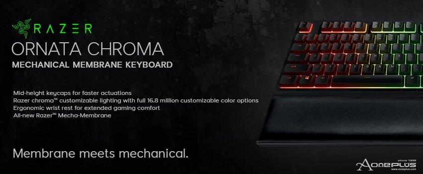 Razer Ornata Chroma Gaming Keyboard - RZ03-02040100-R3M1
