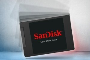 SanDisk SSD PLUS - Solid Design - Lifestyle