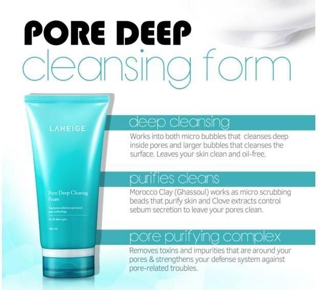 """Laneige Pore Deep Clearing Foam""的图片搜索结果"