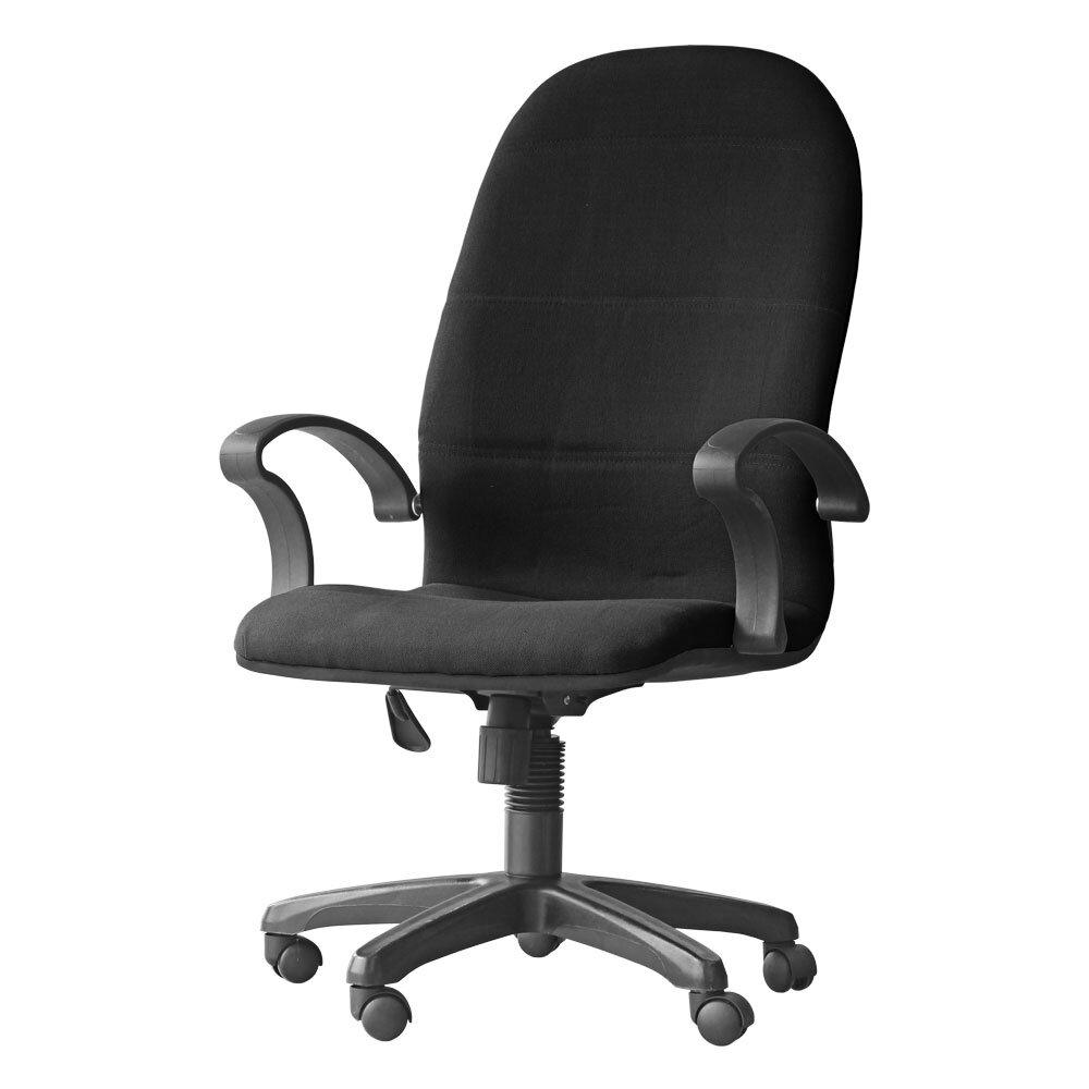 3v Ergonomic High Back Office Chair Ex7091l Black Lazada