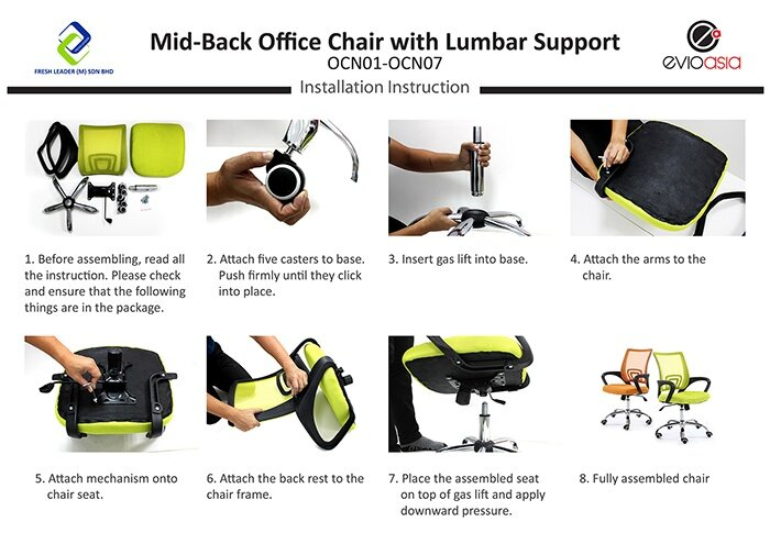 chair inserts for back support. Product Details Of Mid-Back Mesh Office Chair With Lumbar Support - Red Inserts For Back P