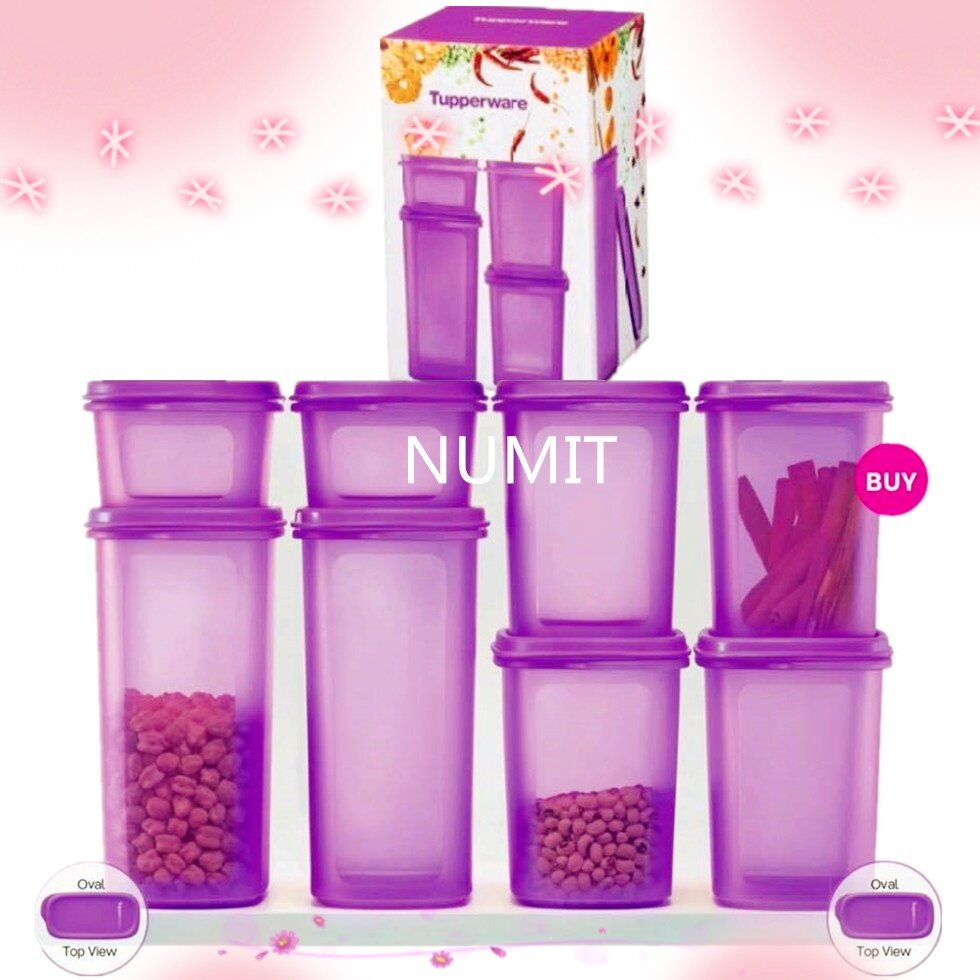 6b8b8ef91 Product details of Tupperware Smart Saver Oval 8pcs Set (2x1.7L + 4X1.1L +  2X500ml) - NUMIT
