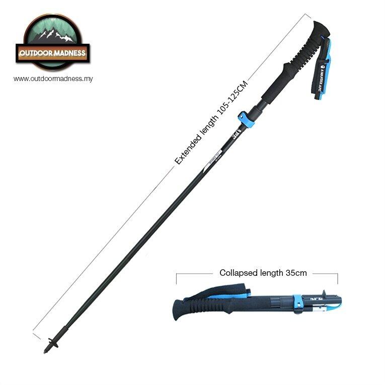 Light Pole Collapse: A Wander Ape 205g Ultralight Trekking Pole Hiking Stick
