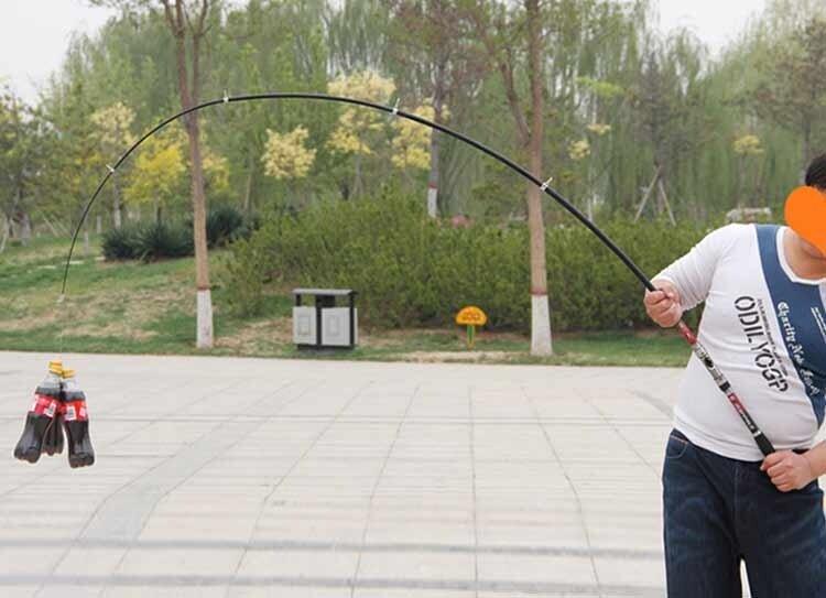 Portable Carbon Fishing Rod Rocker Reel Source · Protable 2 1M Carbon Fiber . Source ·