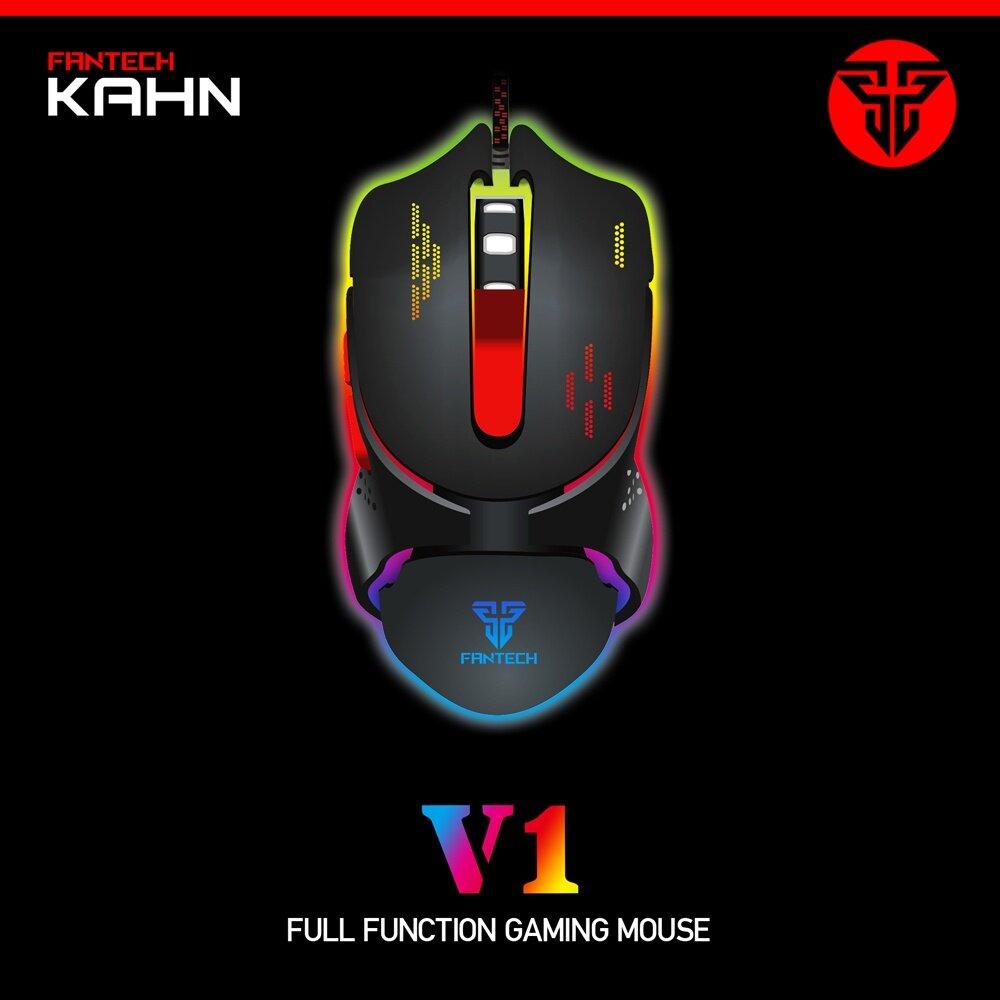 Product details of Fantech ECLIPSE K710 Semi-Mechanical Switches RGB Light Gaming Keyboard + Fantech