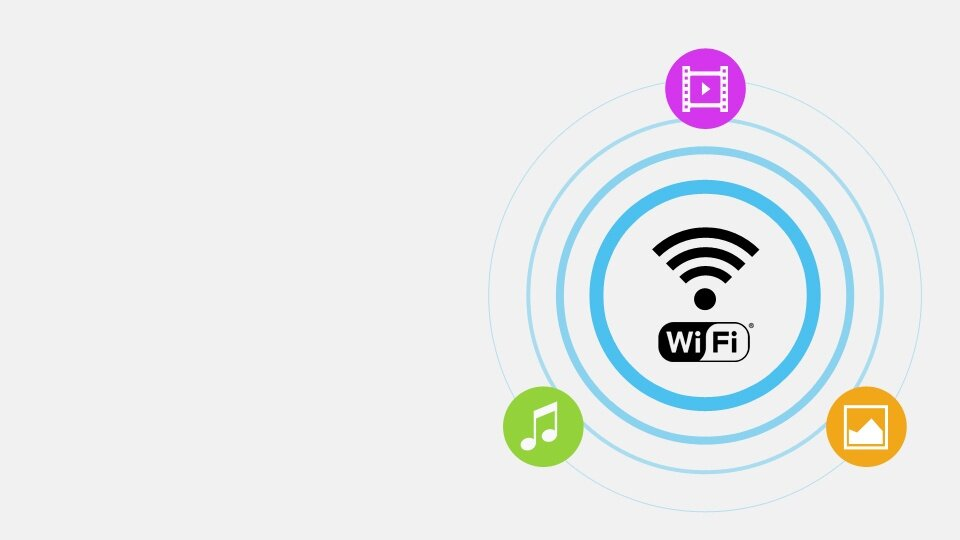 Wirelessly access your devices and the internet