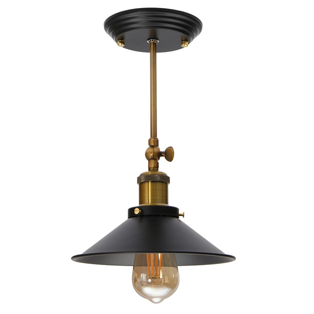 Vintage Iron Fixture Ceiling Lamp Pendant Chandelier Light