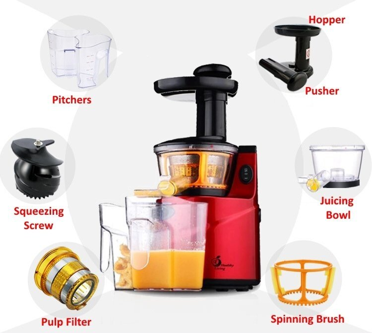 Healthy Living Slow Juicer Review : Healthy Living KQ-8 Slow Juicer Part - Squeezing Screw Lazada Malaysia