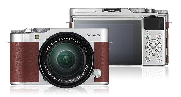 Fuji X-A3 mirrorless camera