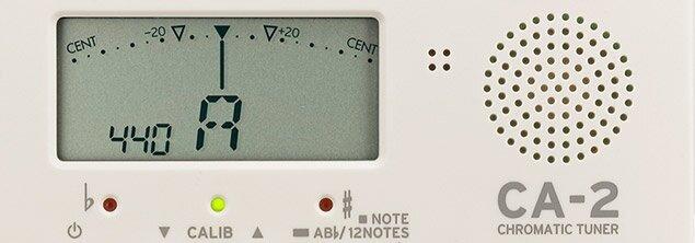 Korg CA-2 Chromatic Tuner - Needle Screen