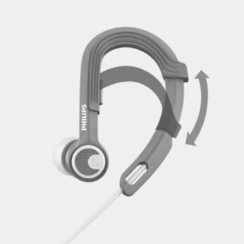 Adjustable earhook for personalized fit